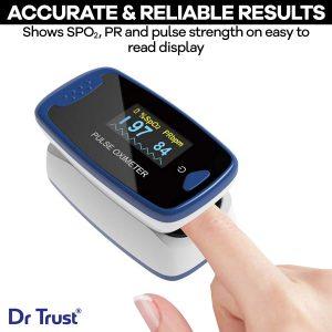 Dr Trust (USA) Finger Tip Pulse Oximeter - 209