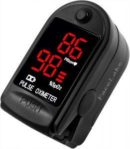 oxymed finger tip pulse oximeter